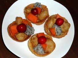优酪水果鲜虾盏怎么煮