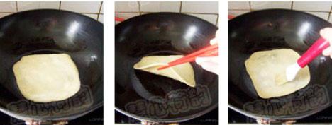 鸡蛋灌饼怎样煸
