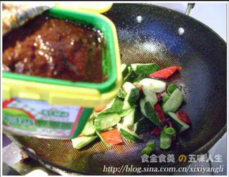 蒜香干锅牛蛙的简单做法