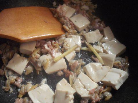蛤肉豆腐的简单做法