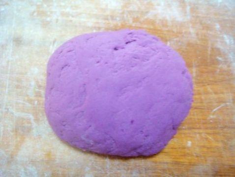 手擀紫薯面怎么煸