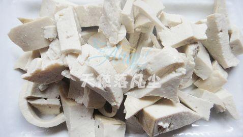 荷花豆腐的简单做法
