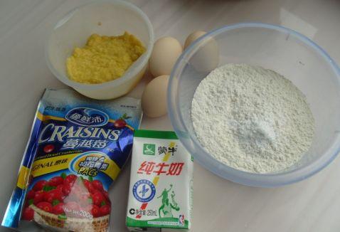 蛋奶玉米蒸糕的做法大全