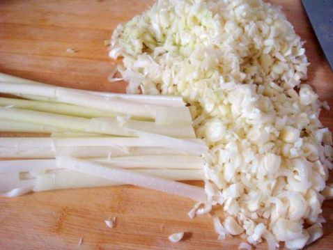 蒲菜水饺的家常做法