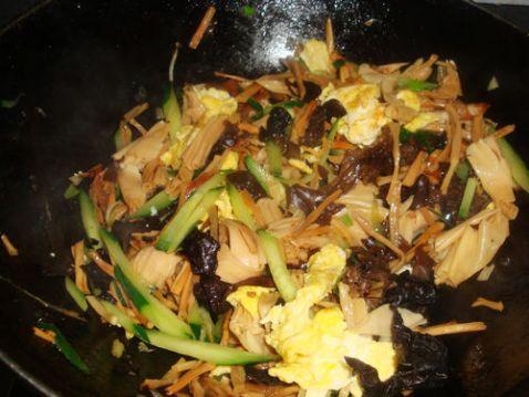 肉炒黄花木耳怎么煮