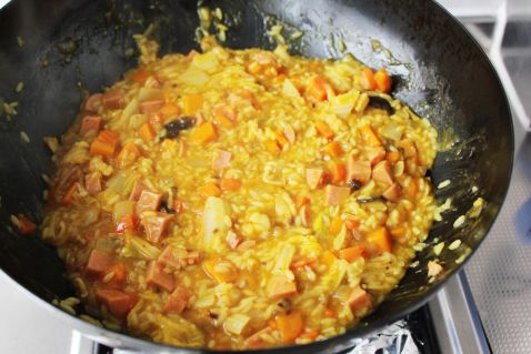 杂蔬咖喱焖饭怎样煮