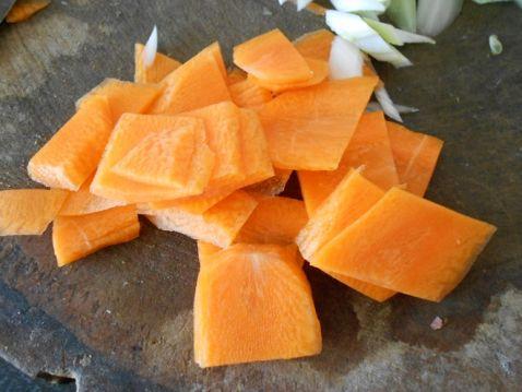 洋葱炒干豆腐胡萝卜的做法图解