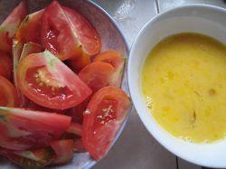 菜籽油番茄炒蛋的做法图解