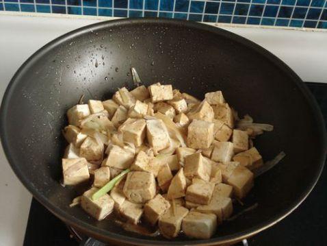 葱油豆腐怎么炒