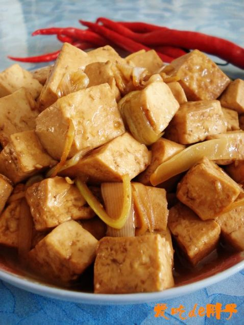 葱油豆腐怎么炖