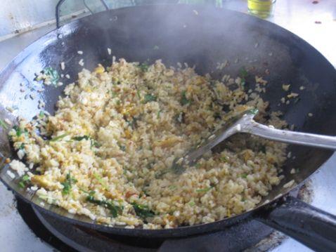 菜籽油蛋炒饭怎么炒