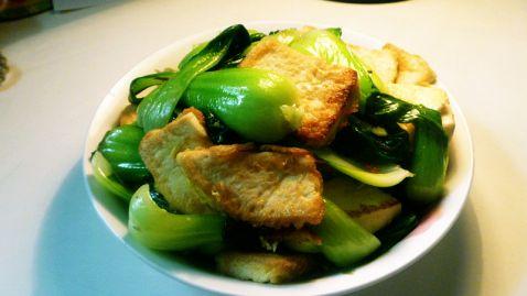 青菜豆腐怎么煮
