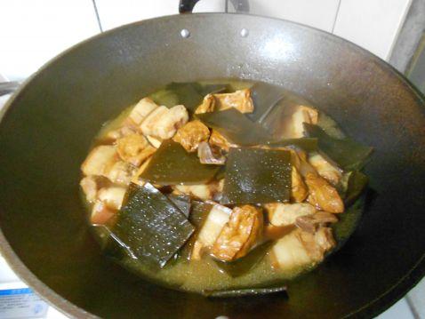 卤豆干海带怎么煮