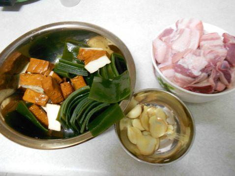 卤豆干海带的做法大全