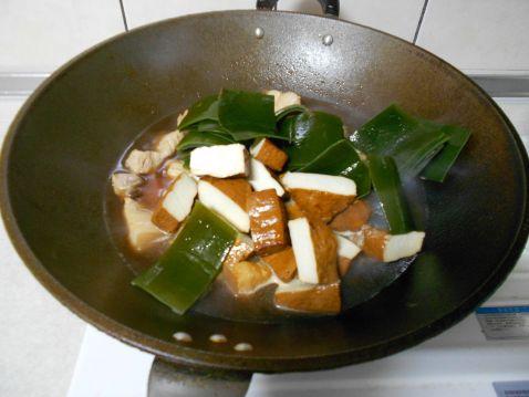 卤豆干海带怎么炒