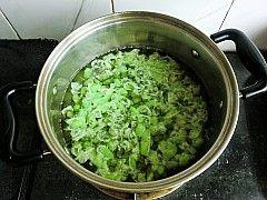 炒毛豆三丁的做法图解