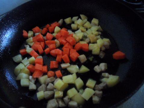 香炒五丁怎么煮