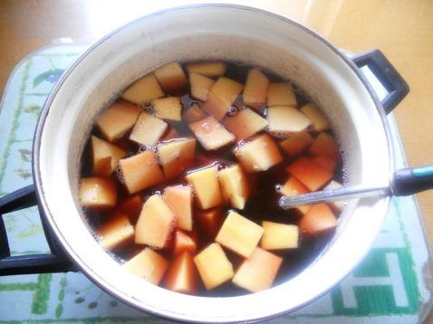桂圆蜜枣木瓜汤的简单做法