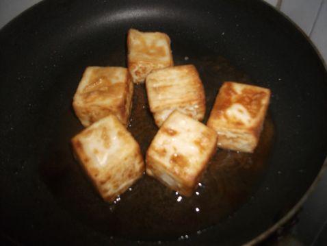 香辣浇汁豆腐怎么做