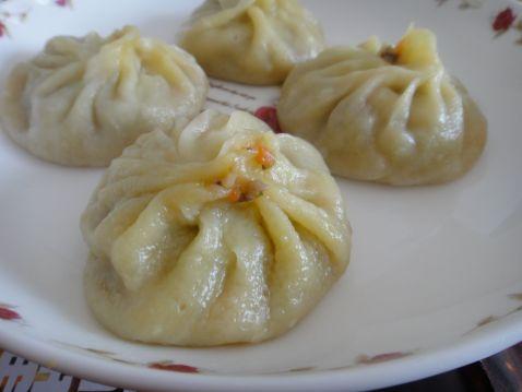 猪肉香菇玉米粒儿蒸饺怎样做