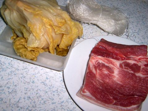 酸白菜汆白肉的做法大全