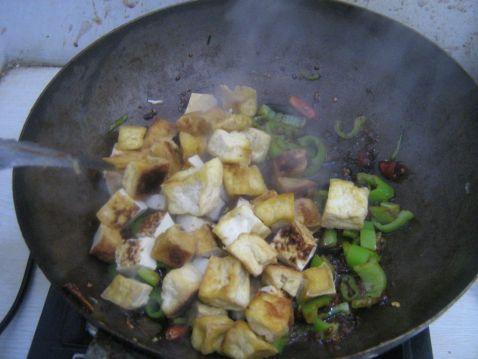 辣椒炒豆腐怎么煮