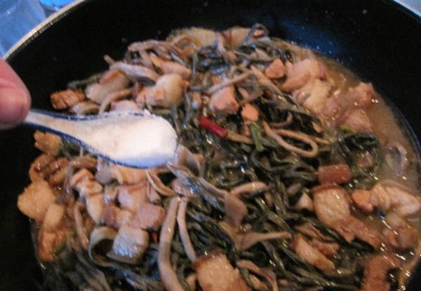 干豆角炖红烧肉怎么炖