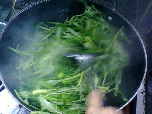清炒竹叶菜的家常做法