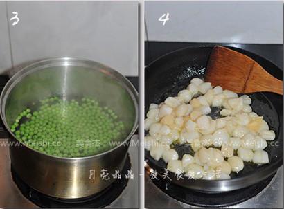 甜豆炒鲜贝的做法图解