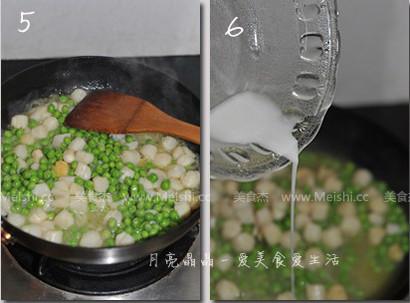 甜豆炒鲜贝的家常做法