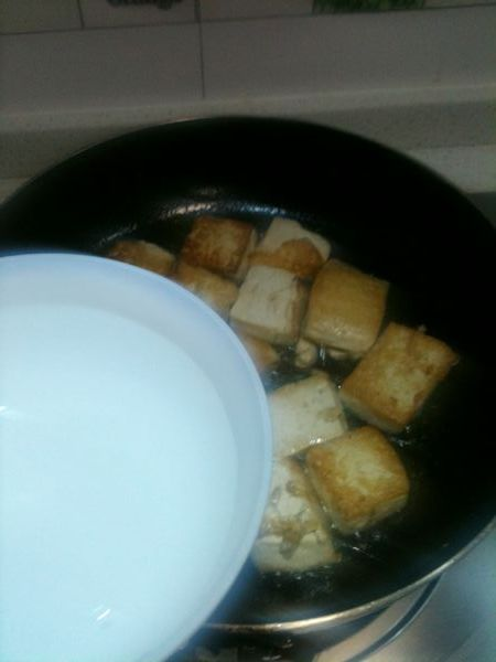 芹菜豆腐的家常做法