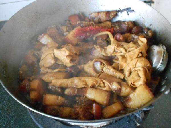 红烧肉炖干豆腐怎么做