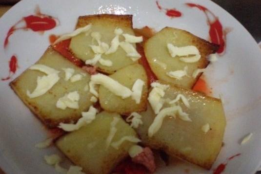千层土豆怎么炖