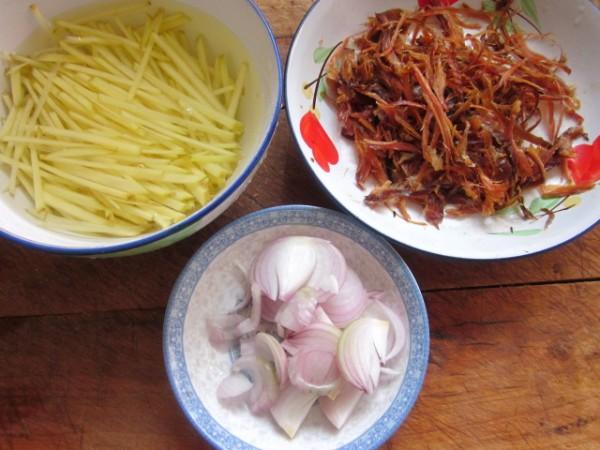 兔肉丝炒土豆的做法大全