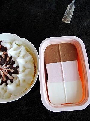 冰激凌铜锣烧怎么煸