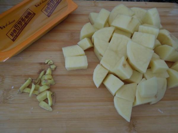 咖喱土豆牛腱的做法图解