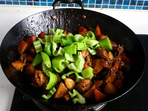 香炒三黄鸡的制作方法