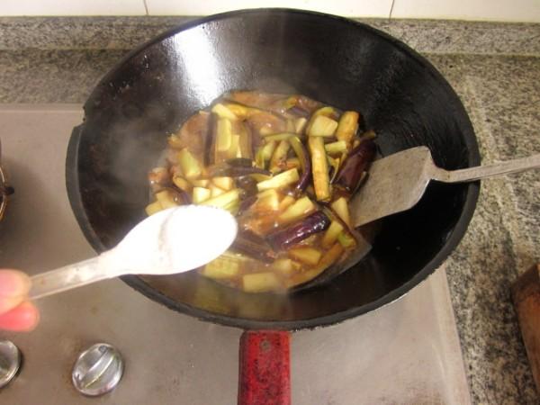 高汤银条茄子怎么做