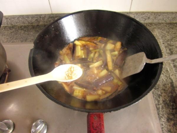 高汤银条茄子怎么炒