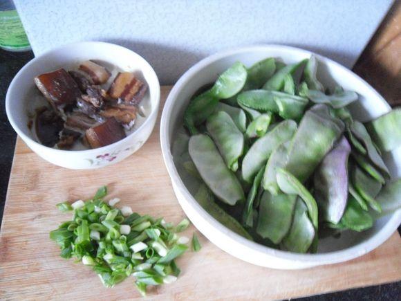 红烧肉烧扁豆的做法大全