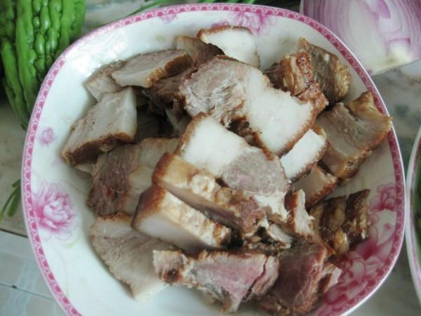双椒炒卤肉的做法大全
