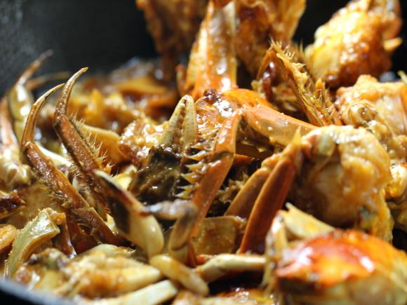 烩河蟹怎样煮