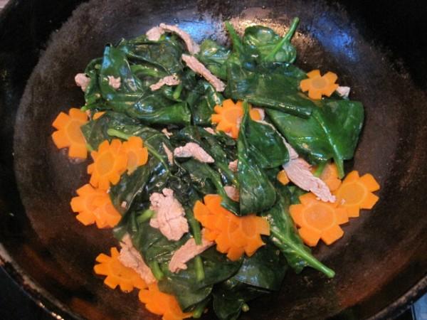 木耳菜炒肉怎么煮