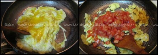 西红柿鸡蛋山药面怎么炒