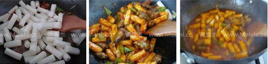 韩式炒年糕的家常做法