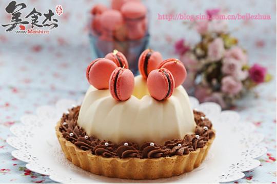 树莓奶油巧克力塔怎么吃