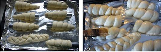 蜗牛面包怎么吃