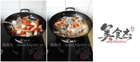 山药胡萝卜炖羊腿的简单做法