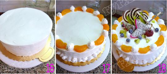 水果蛋糕怎么做