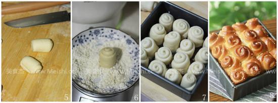 脆底蜂蜜小面包的做法图解
